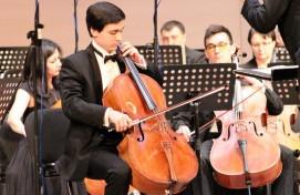 Международный музыкальный фестиваль, посвященный юбилею Национального симфонического оркестра республики, продолжается!