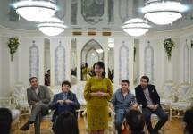 Театральная гостиная в Башдрамтеатре им. М.Гафури ко Дню Защитника Отечества