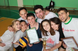 The best volleyball players among the theaters of Ufa are announced