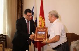 В Бишкеке состоялась официальная презентация эпоса «Манас», переведенного на башкирский язык
