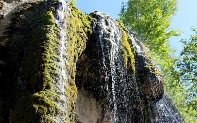 Абзановский водопад (Ассинский зеркальный водопад)