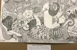 В Уфе открылась выставка работ по мотивам сказки «Аленький цветочек»