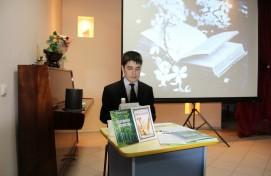 В Нефтекамске состоялась презентация сборника стихов начинающего поэта Радмира Галиева