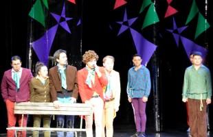 В рамках VI Международного фестиваля тюркоязычных театров «Туганлык» театр из Казахстана представил спектакль «Ревизор»