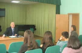 Директор Нефтекамской государственной филармонии встретился с выпускниками Учалинского колледжа искусств и культуры