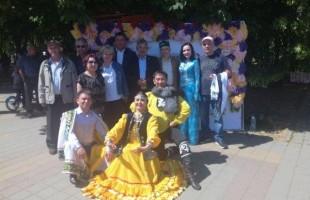 Артисты Башкортостана выступили в Сабантуях Ростова-на-Дону и Краснодара