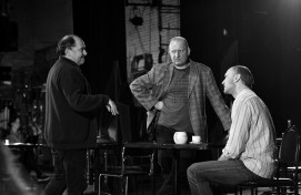 """The Russian Drama Theater is rehearsing a new play """"House for the Madmen"""""""