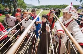 В Абзелиловском районе состоялись соревнования по этническим видам спорта «Игры кочевников»