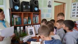 В Буздякском районе провели познавательный час, в рамках празднования 98-летия со дня рождения Мустая Карима