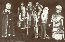 Милли йәштәр театры «Башҡорт туйы» спектаклен сәхнәләштерә