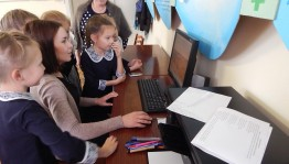 Удмуртский историко-культурный центр посетили учащиеся Новотатышлинской средней школы