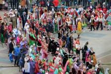 """2 день Международного фестиваля """"Сердце Евразии"""": """"Праздник национального костюма"""""""