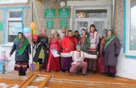 Весенний праздник «Проводы Зимы» в Чувашском ИКЦ