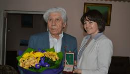 Яҙыусы Рәсих Ханнанов Халыҡтар Дуслығы ордены менән бүләкләнгән