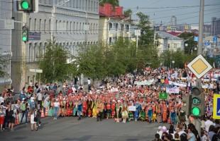 Өфөлә Милли кейем байрамында 3000-дән ашыу кеше ҡатнашты
