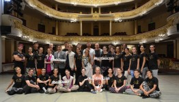 Стартовал I сезон Международной хореографической мастерской «Rudy Dance Lab»