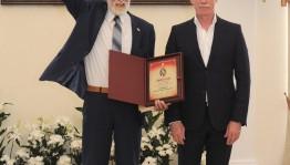 Писателю Камилю Зиганшину вручили Международную литературную премию имени Гончарова