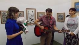 Персональная выставка Олеси Шамшитовой «Мой путь» открылась в Нефтекамске