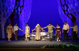 А.Мөбәрәков исемендәге Сибай башкорт театры сәхнәһендә тамашасыһыҙ  премьера уҙҙы