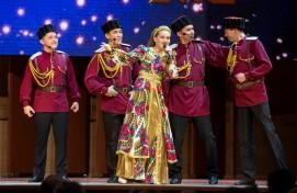 Ансамбль песни и танца «Мирас» успешно выступил в Новосибирске