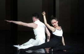 "In Ufa, the world premiere of one-act ballets ""The Seasons, or the Mysterious Garden"" and ""Rhapsody"""
