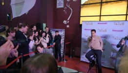 Popular actor Milos Bikovic presented his new film in Ufa
