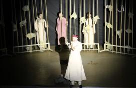 Народный театральный коллектив «Таналыҡ» представил спектакль «Ҡарлуғас» по пьесе Б.Бикбая