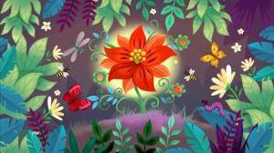 Торжественное закрытие выставки «Рисуем и читаем сказку вместе» по сказке С. Аксакова «Аленький цветочек»