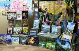 В БРСБС продолжается экспозиция творческих работ людей с ОВЗ