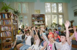 В Центре детского чтения Национальной библиотеки РБ проходят смены летнего пришкольного лагеря