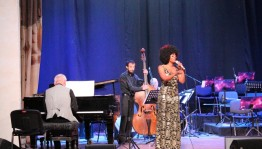 American singer Sy Smith held a jazz concert in Ufa