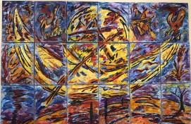 В Уфе открылась совместная выставка художников Ренаты и Евгения Малютиных